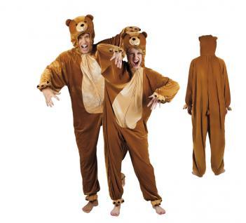 Bärenkostüm Kostüm Bär SONDERPREIS Overall Bärenoverall Bear costume