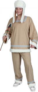 Kostüm Eskimo Mann Eskimo Herr SONDERPREIS Kostüm Inuit Kostüm Eskimo-Mann Eskimokostüm