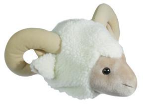 Schafmütze Hut Schaf weiß Schafsmütze Kostüm Schaf Schafskostüm Widderhut Hut Widder Mütze Schaf SONDERPREIS