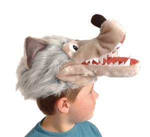 Hut Wolf Wolfsmütze Mütze Wolf Wolfshut Kostüm Wolf Wolfskostüm SONDERPREIS