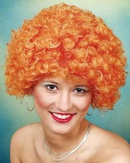 Perücke Hair orange Perücke SONDERPREIS Locken Afroperücke Perücke Afro Lockenperücke orange