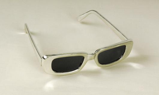 Brille silber Silberbrille Brille 60er 70er SONDERPREIS