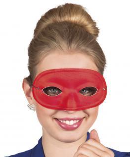 Dominomaske rot Maske Domino Maske Carnevale Venezia