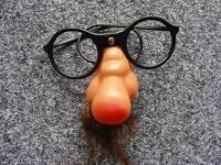 Nasenbrille Brille mit Nase und Bart