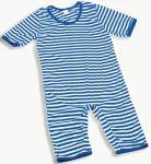 Badeanzug Ringel Streifenanzug blau-weiß Ringelanzug