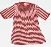 Ringelshirt T-Shirt Ringel rot-weiß