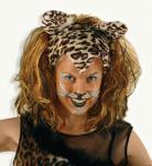 """Perücke """" Cats """" Perücke Katze Katzenperücke Tiger Leopard"""