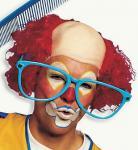 Clownglatze Perücke Clown Clownperücke - Glatze Clownglatze Haare SONDERPREIS