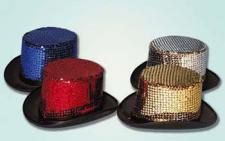 Pailetten - Zylinder 4 Farben
