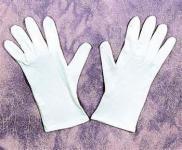 Handschuhe weiß weiss Gardehandschuh Clownhandschuh Clown Garde Tanzmarie weisse Handschuhe