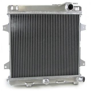 Alu Rennsport Wasser Kühler für BMW 3ER E30 M3 85-91