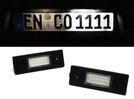 LED Kennzeichenbeleuchtung weiß 6000K für FIAT Multipla Marea