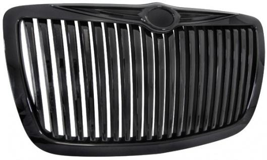 Sport Kühlergrill Grill Rolls Royce Look schwarz für Chrysler 300C 04-11