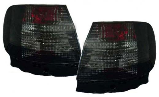 Klarglas Rückleuchten schwarz Kristall für Audi A4 B5 Limousine 94-00