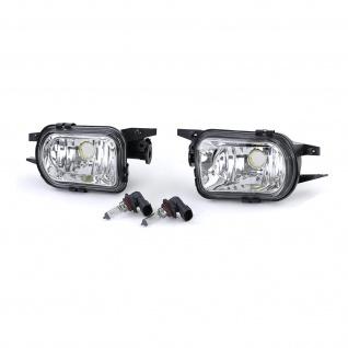 Klarglas Nebelscheinwerfer HB4 für Mercedes C W203 CL203 C209 SLK R170 C215