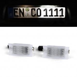 LED Kennzeichenbeleuchtung Weiß 6000K für BMW 5er E34 Touring 91-97