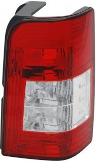 Rückleuchte / Heckleuchte rot weiß rechts TYC für Citroen Berlingo M / MF 96-05