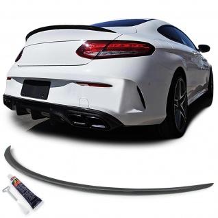 Echt Carbon Heckspoiler Sport Ausführung für Mercedes C Klasse Coupe C205 ab15