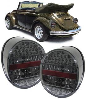LED Rückleuchten smoke für VW Käfer ab 72