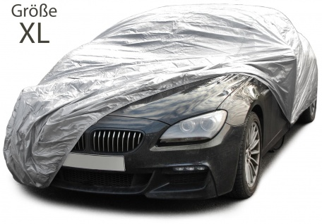 Auto Schutz Abdeckung Vollgarage Car Cover mit Türausschnitt Größe XL
