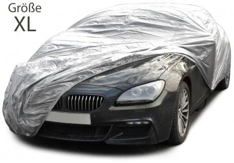 AUTO SCHUTZ ABDECKUNG VOLLGARAGE CAR COVER MIT TÜRAUSSCHNITT GRÖSSE XL