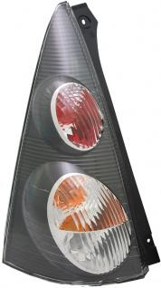 Rückleuchte / Heckleuchte schwarz links TYC für Peugeot 107 05-