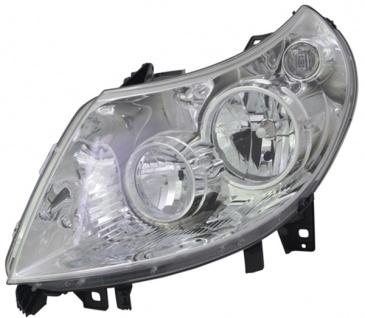 H1 / H7 Scheinwerfer links TYC für Peugeot Boxer 10-