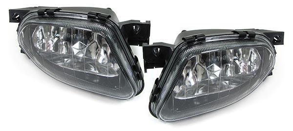 Klarglas Nebelscheinwerfer H11 Paar für Mercedes E Klasse W211 02-06 - Vorschau 2