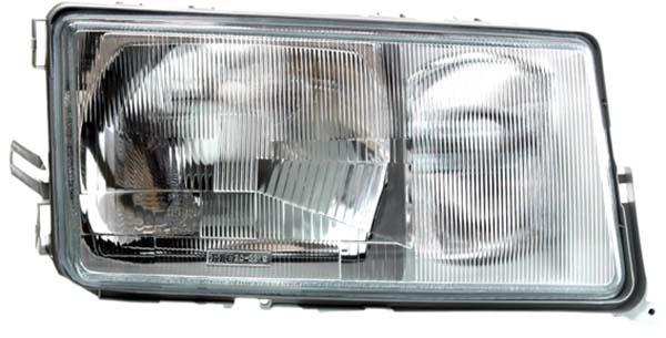 H3 / H4 Scheinwerfer rechts TYC für Mercedes 190 W201 82-93