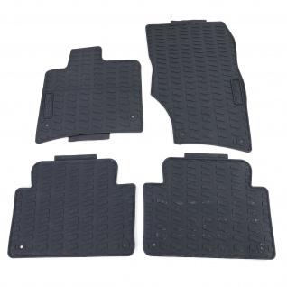 Premium Gummi Fußmatten Set 4-teilig Schwarz für Audi Q7 4LB 06-15