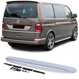 Dachkantenspoiler Heckspoiler Sport Optik für VW Bus T6 T6.1 mit Heckklappe ab15
