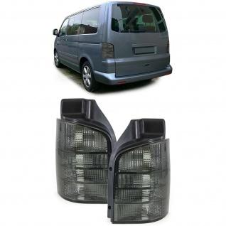 Rückleuchten schwarz smoke Klarglas für VW Bus Transporter Kasten T5 03-09