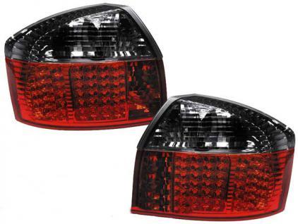 LED Rückleuchten rot schwarz für Audi A4 8E Limousine 00-04