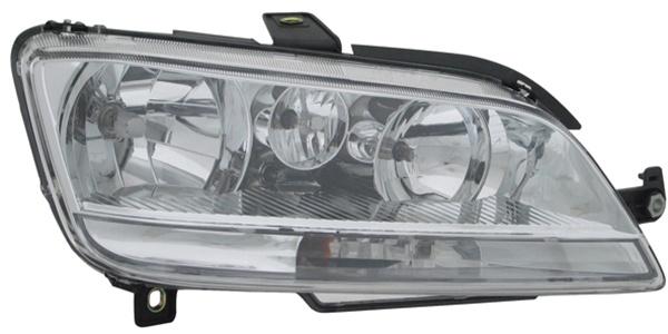 H1 / H7 Scheinwerfer rechts TYC für FIAT Idea 03-05