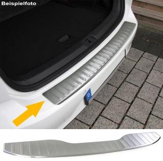 Ladekantenschutz Stoßstangenschutz Edelstahl matt für Ford S-Max ab 14