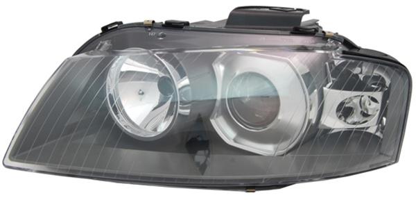 H7 / D2S Scheinwerfer links TYC für Audi A3 8P 03-05 - Vorschau