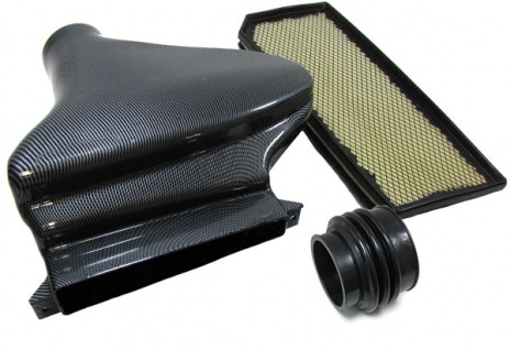 Luftfilter Airbox Air Intake Carbon Look Ram Air für VW Golf 5 GTI 03-08