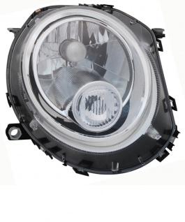 H4 Scheinwerfer weiß rechts TYC für Mini Clubman Cabrio Coupe R 55 56 57 58 59