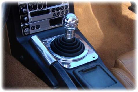Schaltkulisse TT Style - Edelstahl für Mazda MX 5 Mx5 NA