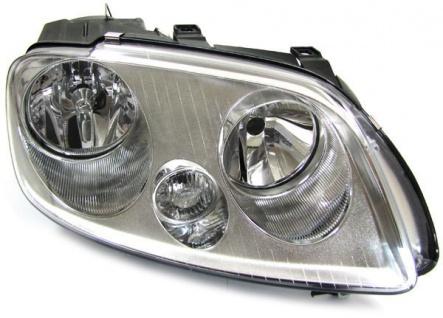H7 H1 Scheinwerfer mit Stellmotor rechts für VW Touran 03-06 + Caddy 04-10