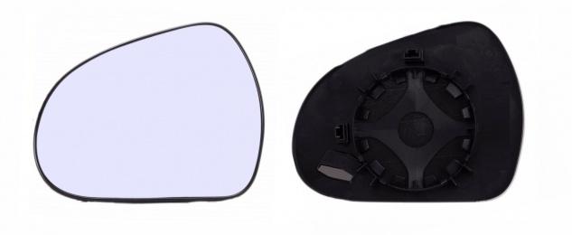 Spiegelglas links für PEUGEOT 207 06- - Vorschau