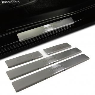 Einstiegsleisten Schutz Edelstahl Exclusive für Peugeot 207 5Türer ab 06