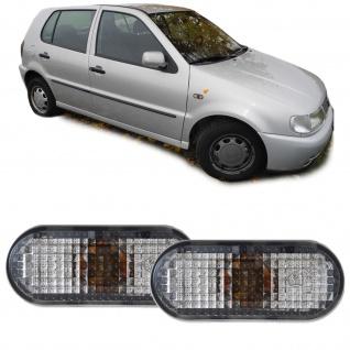 Seitenblinker schwarz smoke Paar für VW Golf III Passat 3A Polo 6N1 Sharan Caddy