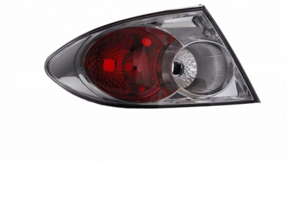 Rückleuchte Aussen chrom links TYC für Mazda 6 Limousine Fließheck 05-07