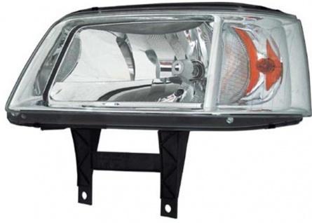 H4 Scheinwerfer chrom links TYC für VW Multivan T5 03-09