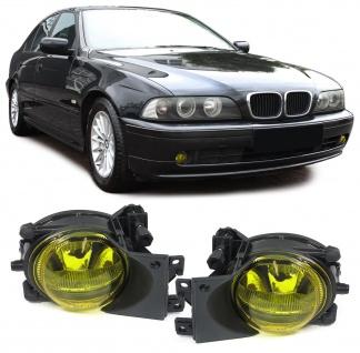Klarglas Nebelscheinwerfer H8 Gelb Paar für BMW 5er E39 00-04 Facelift