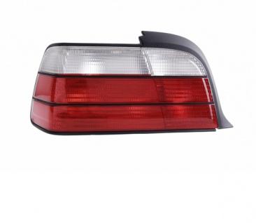 Rückleuchte / Heckleuchte weiß links TYC für BMW 3ER Coupe Cabrio E36 92-99