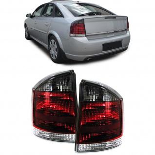 GTS OPC Rückleuchten rot schwarz für Opel Vectra C Limousine