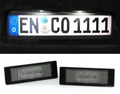 LED Kennzeichenbeleuchtung High Power weiß 6000K für BMW 6er Coupe E63 ab 2004