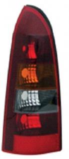 RÜCKLEUCHTE / HECKLEUCHTE SMOKE GELB LINKS TYC FÜR OPEL Astra G Caravan 98-05